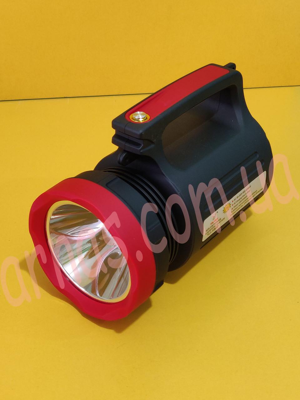 Акумуляторний ліхтар з боковим світлом YJ-1902T (5W+22SMD+Solar battery)