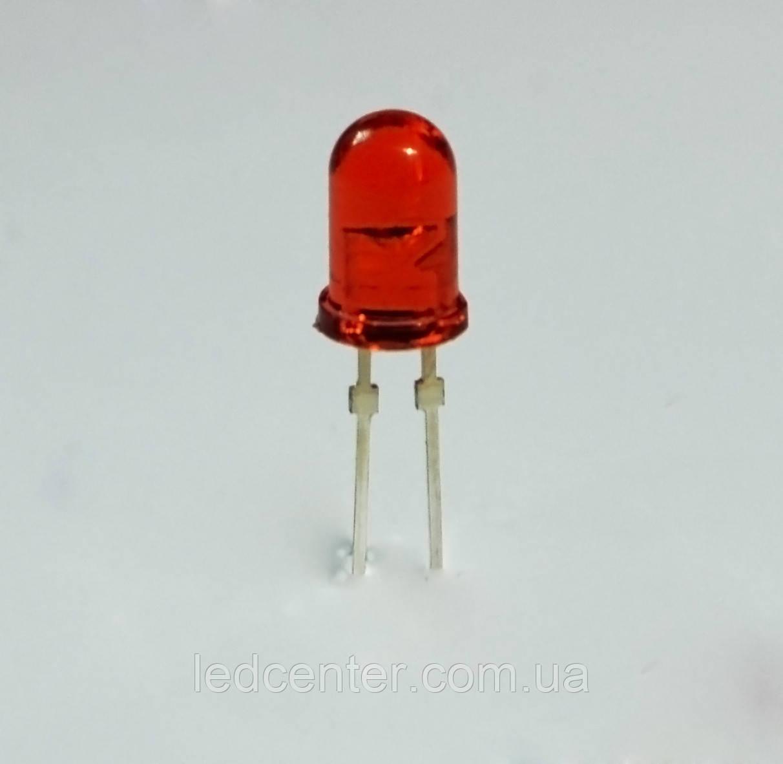 Optosupply выводной светодиод 5мм (красный)