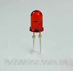 Optosupply вивідний світлодіод 5мм (червоний)