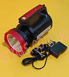 Акумуляторний ліхтар з боковим світлом YJ-2895U, фото 3