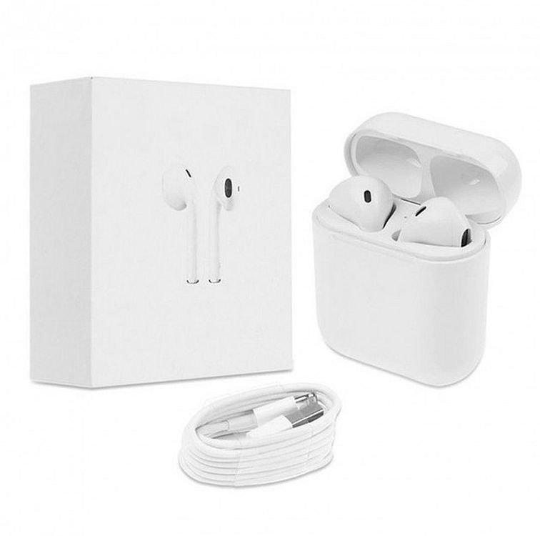 Бездротові навушники з зарядним кейсом Ifans Bluetooth, White