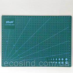 Самовосстанавливающийся раскройный коврик для пэчворка 30х22см (СИНДТЕКС-0823-1)