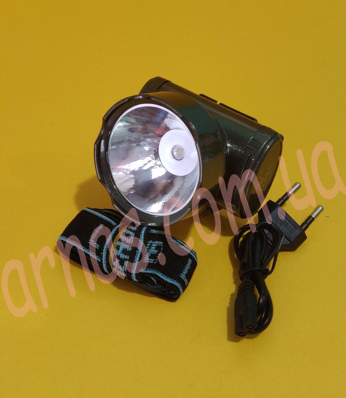Аккумуляторный налобный фонарь YJ-1898-1