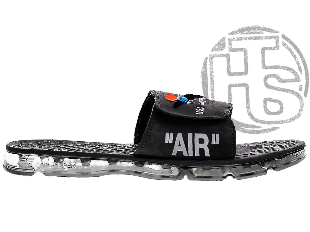 Чоловічі капці Off White x Nike Air Jumper Black ALL04411