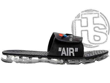 Чоловічі капці Off White x Nike Air Jumper Black ALL04411, фото 2
