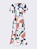 Расклешенное платье макси в цветочный принт ЛЕТО, фото 9