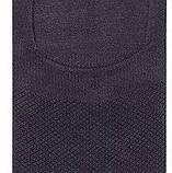 Шкарпетки чоловічі невидимі Bross сірі, фото 2