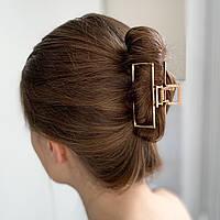 Заколка-крабик для волос - металический