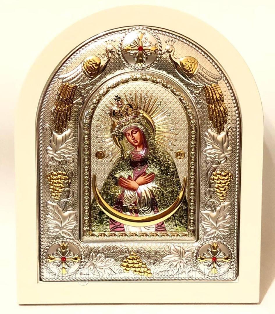 Икона Остробрамская 24х29 эмаль