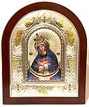 Икона Остробрамская 24х29 эмаль, фото 2