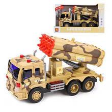 """Пластикова іграшка """"Військове авто"""" WY651D"""