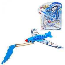 """Іграшка """"Рогатка-літак"""", синій ESA515"""