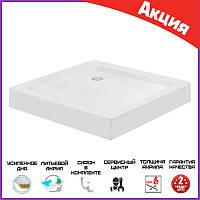 Душевой поддон 100*80 см Lidz Wawel прямоугольный. Акриловый душевые поддоны квадратной формы 80х100 см
