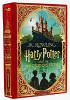 Книга с движущимися элементами Гарри Поттер Harry Potter and the Philosopher's Stone (MinaLima Edition)