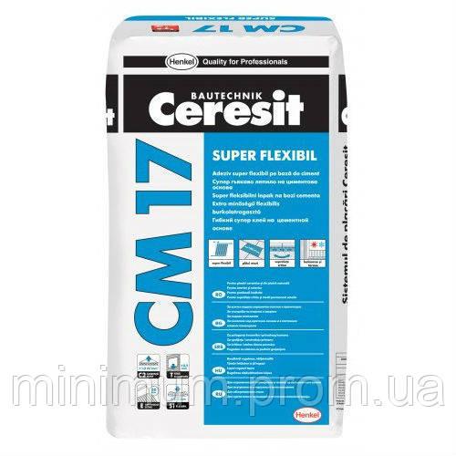 Ceresit CM 17 Высокоэластичный клей для плитки