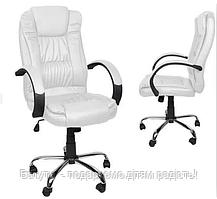 Кресло офисное белое Malatek.