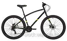 Велосипед 27,5` Pride ROCKSTEADY 7.1 рама - M 2021 чорний
