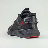 Кроссовки BaaS 7061-1 М 579247 Черные, фото 5
