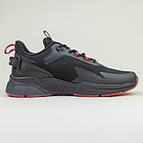 Кроссовки BaaS 7090-1 М 579249 Черные, фото 7