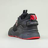 Кроссовки BaaS 7090-1 М 579249 Черные, фото 9