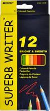 Олівці кольорові MARCO 12 кольорів №4100-12CB superb writer