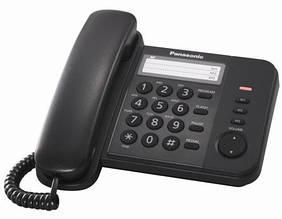 Провідний телефон Panasonic KX-TS2352UAB Black