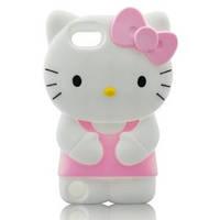 Чехол для iPOD 5 HELLO KITTY светло розовый