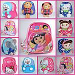 Дитячі рюкзаки з плюшевою іграшкою та рюкзаки для дошкільнят .