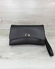 Женская сумка «Пэт» черная Welassie