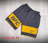 Шорты трикотажные подростковые для мальчика UFC размер 11-15 лет, цвет уточняйте при заказе, фото 1