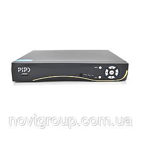 8ми канальний мультиформатний PiPo відеореєстратор PP-DVR5108GM