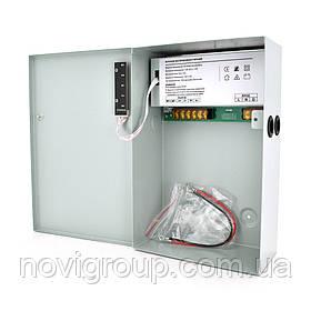 Імпульсне джерело безперебійного живлення PSU-1012-17 12V 10А, під АКБ 12V 17-20A, Metal Box