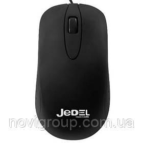 Мишка комп'ютерна провідна JEDEL CP87, Black