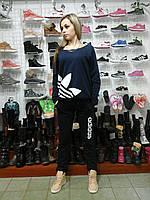Чёрный костюм женский спортивный sport sport турецкий трикотаж