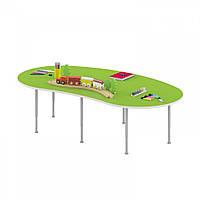 Стол игровой Долька для настольных игр рисования на регулируемых ножках для детских садов 170х90х42/58см 63794