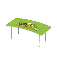 Стол детский игровой для рисования и настольных игр с регулируемыми ножками для детсадов 125х90х42/58см 63798