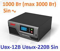 Інвертор MUST EP20-1000 PRO 1000W/12V з правильною синусоїдою, фото 1