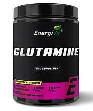 Глютамин EnergiVit GLUTAMINE 500 грамм с вкусовыми добавками
