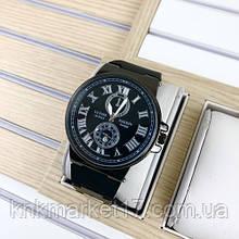 Ulysse Nardin 6600 Black-Silver