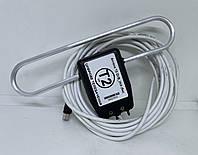 Антенна для Т2 с усилителем 5V c ТВ-кабелем 5метров