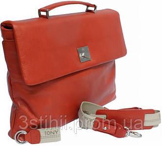 Портфель Tony Perotti Contatto 9160-35-Ct rosso Красный