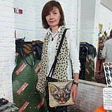 Джинсова сумка з котом Орієнтал, фото 7