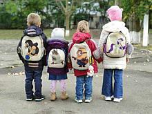 Рюкзаки для дошкольников размер 29/23/9 см.