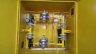 Установка газовая шкафная — УГШ-F-2RG-2MBC Dn32 (УГШ,ГРПШ,ШГРП,ШРП,ГРП,ШП)