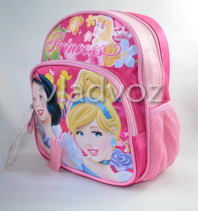 детский рюкзак принцессы