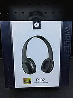 Bluetooth-навушники WUW Wirreless Headset R102 Version 5.0 (чорний)