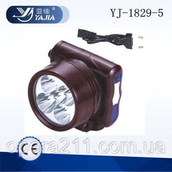Налобный фонарик (OPERA) OP1829-5 (120шт)
