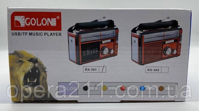 Радио GOLON RX-382 (36шт)