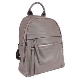 Сумка-рюкзак шкіряні de esse Сірий