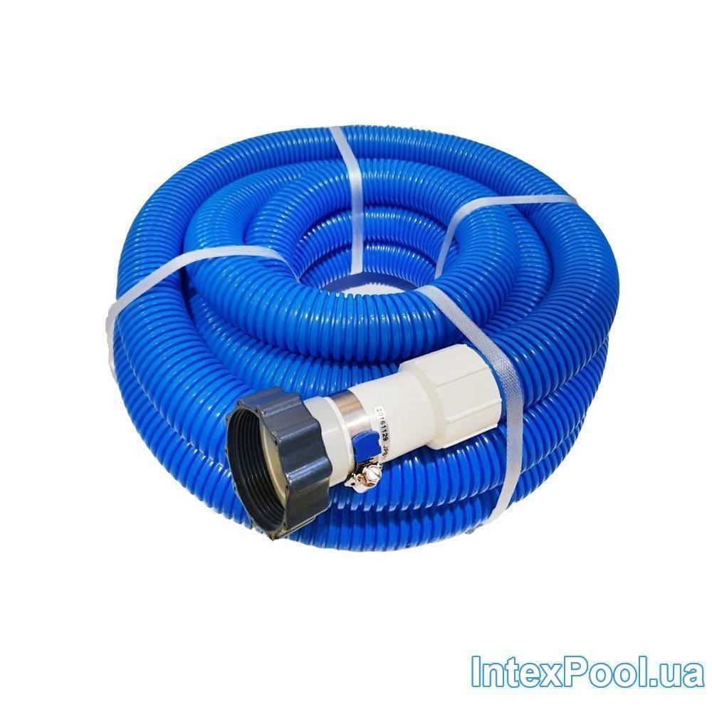 Гофрований шланг з гайками Intex 29083-2, для віддаленого підключення. Довжина 7.6 м, діаметр, різьба 38 мм
